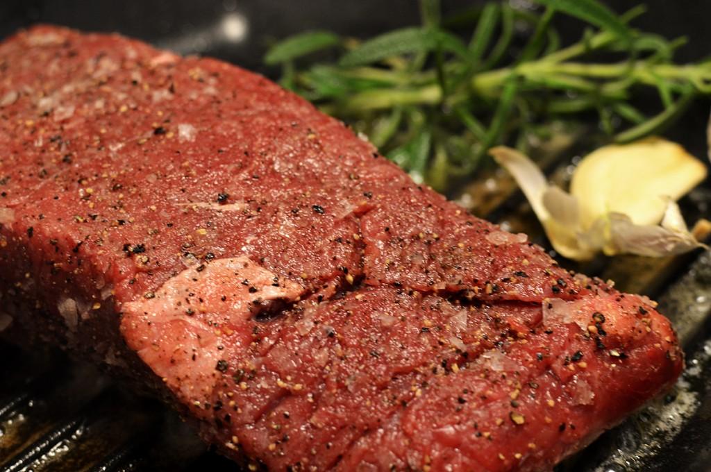 Searing Steak