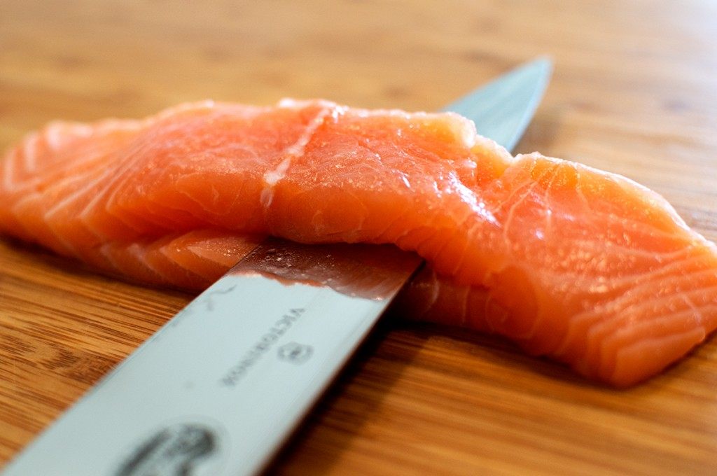 How the fish should be cut