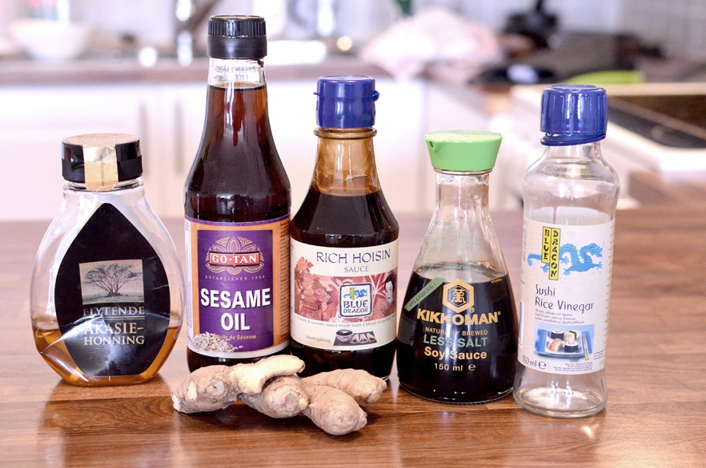Ingredients for Marinade