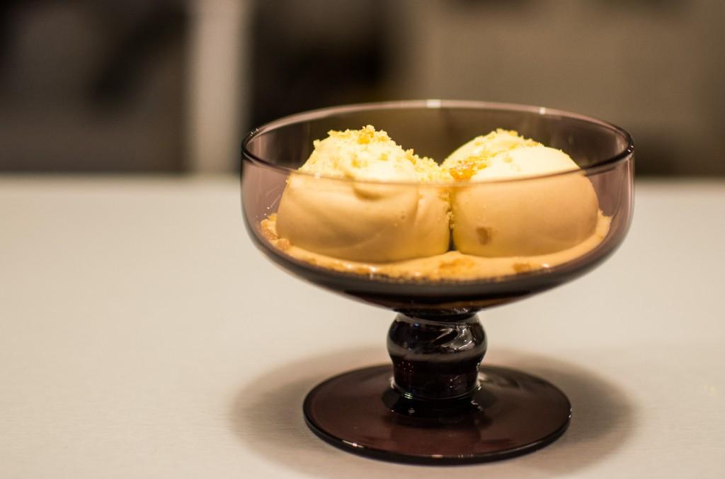 Cognac Caramel Ice Cream
